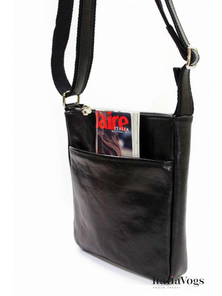 Мужская сумка через плечо из НАТУРАЛЬНОЙ КОЖИ GI2005