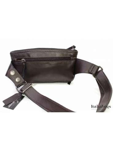 Мужская поясная сумка из НАТУРАЛЬНОЙ КОЖИ KATANA K81600