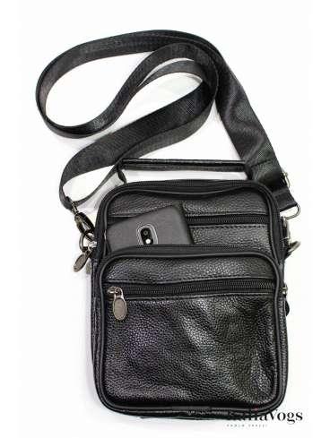 Мужская сумка через плечо из НАТУРАЛЬНОЙ КОЖИ VB90031