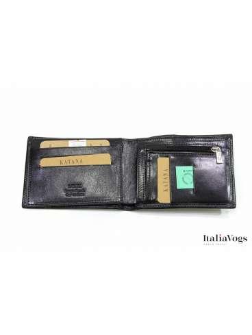 Мужское портмоне из НАТУРАЛЬНОЙ КОЖИ KATANA K353062