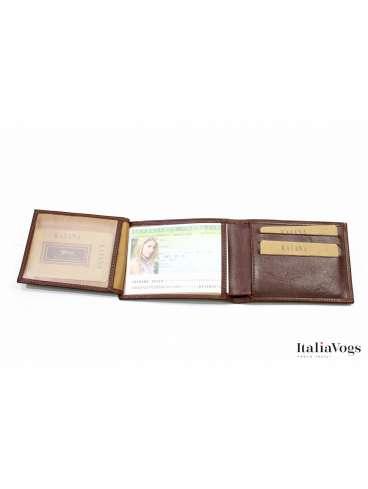 Мужское портмоне из НАТУРАЛЬНОЙ КОЖИ KATANA K253077