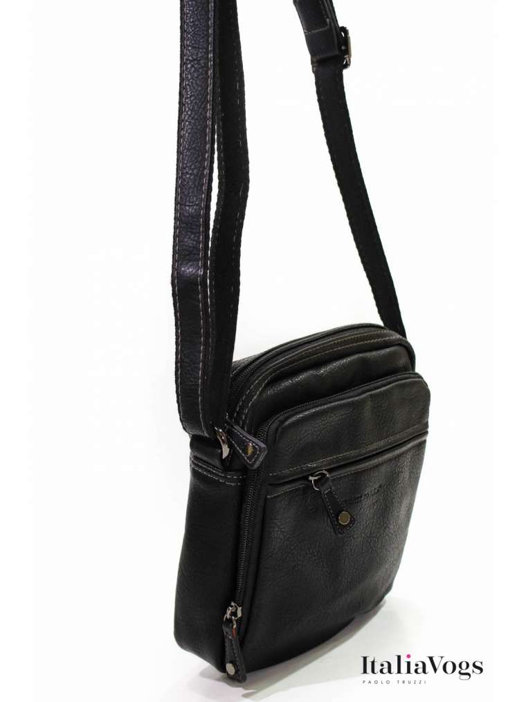 Мужская сумка через плечо DAVID JONES H694403