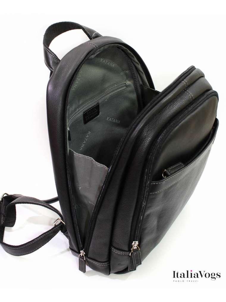 Мужской рюкзак из НАТУРАЛЬНОЙ КОЖИ KATANA K69308