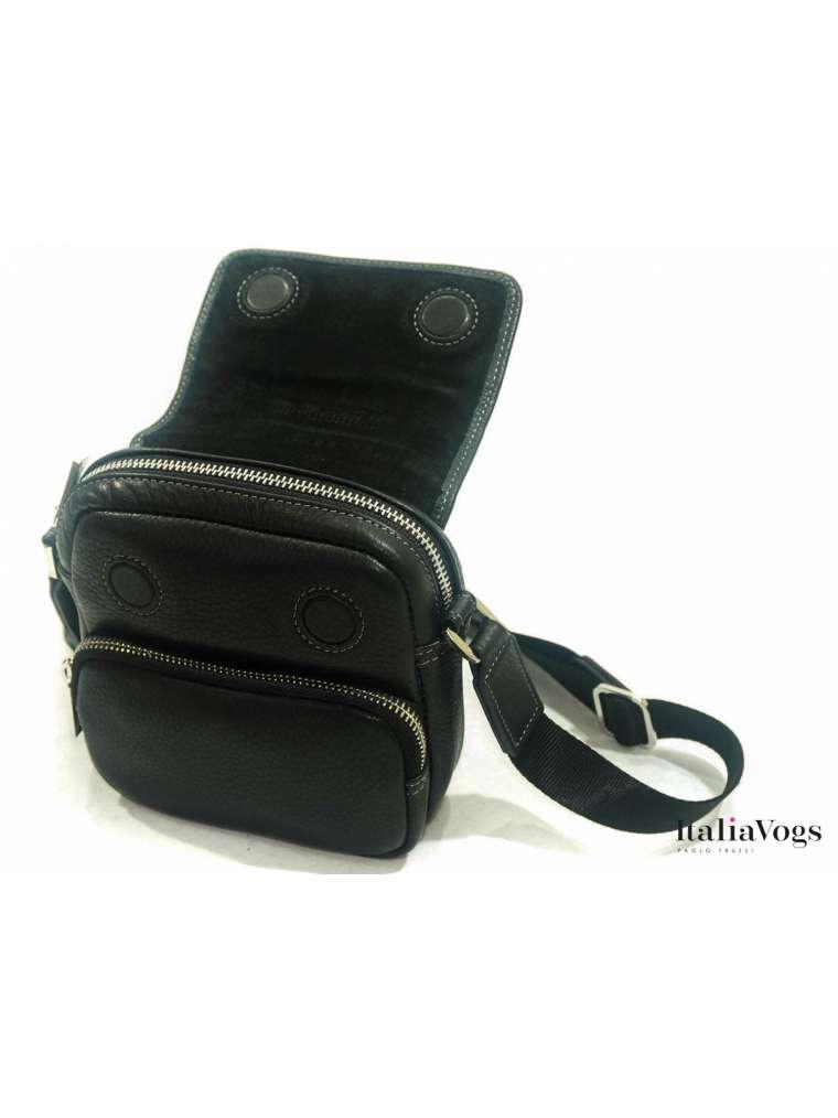 Мужская сумка через плечо из НАТУРАЛЬНОЙ КОЖИ KATANA K89105