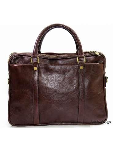 Мужская деловая сумка из НАТУРАЛЬНОЙ КОЖИ SE3900
