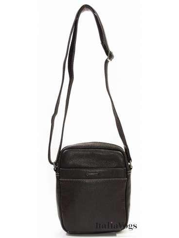 Мужская сумка через плечо из НАТУРАЛЬНОЙ КОЖИ KATANA K83601