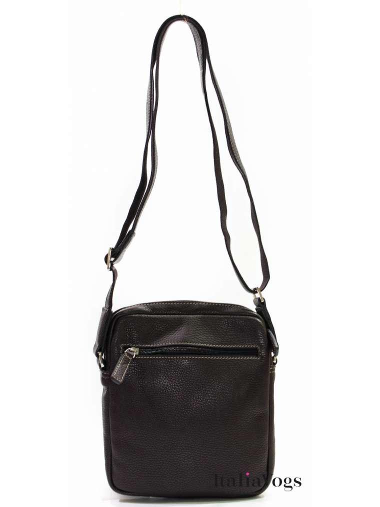 Мужская сумка через плечо из НАТУРАЛЬНОЙ КОЖИ KATANA K83602