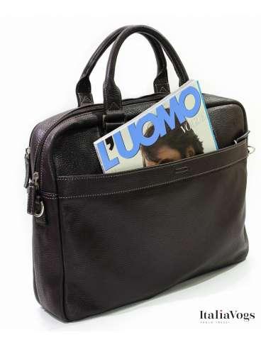Мужская сумка для ноутбука из НАТУРАЛЬНОЙ КОЖИ KATANA K83608