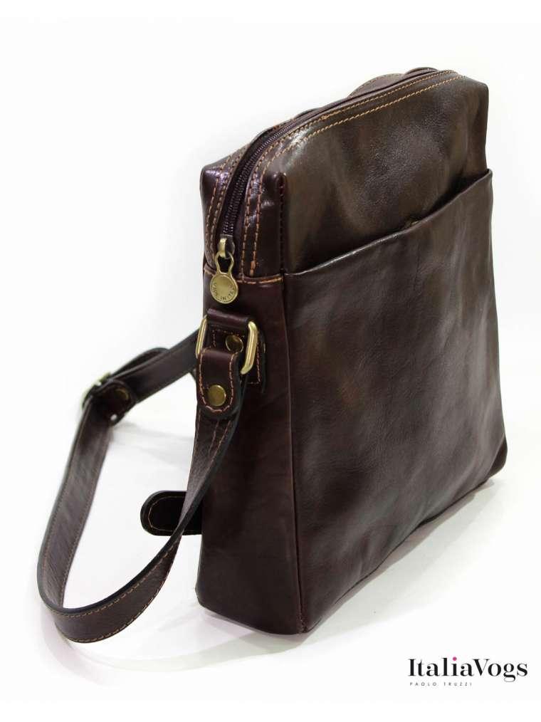 Мужская сумка через плечо из НАТУРАЛЬНОЙ КОЖИ VM2103