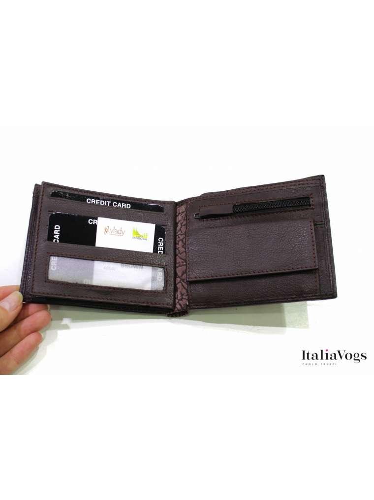 Мужское портмоне из НАТУРАЛЬНОЙ КОЖИ VBLCS1007