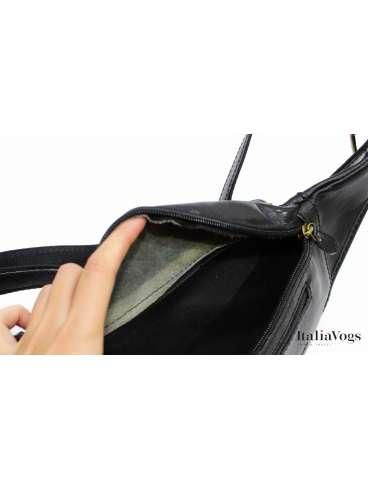 Мужская поясная сумка из НАТУРАЛЬНОЙ КОЖИ KATANA K6807