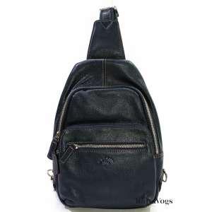 Мужская сумка на плечо из НАТУРАЛЬНОЙ КОЖИ KATANA K69515