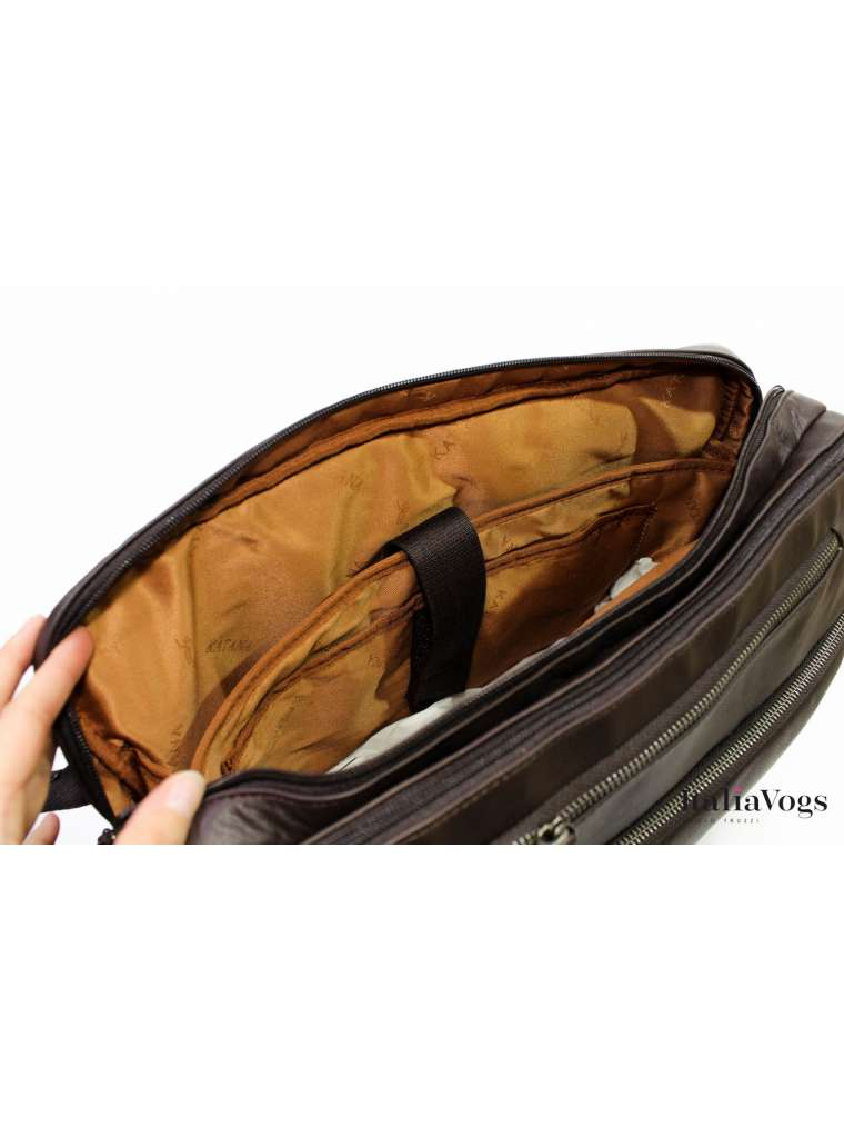Мужская сумка - рюкзак из НАТУРАЛЬНОЙ КОЖИ KATANA K81616