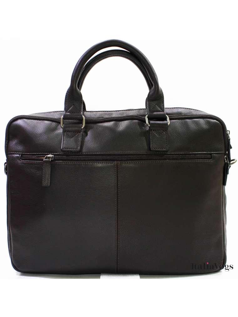 Мужская деловая сумка из НАТУРАЛЬНОЙ КОЖИ KATANA K89615