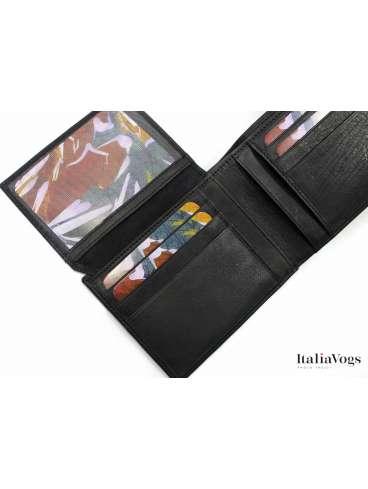 Мужское портмоне из НАТУРАЛЬНОЙ КОЖИ BCD823