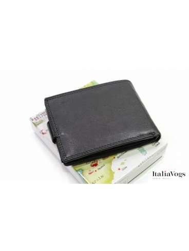 Мужское портмоне из НАТУРАЛЬНОЙ КОЖИ FH6365U