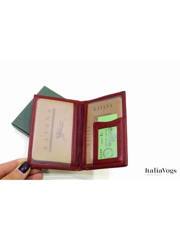 Обложка на документы из НАТУРАЛЬНОЙ КОЖИ KATANA K253102