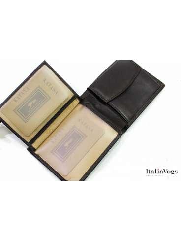 Мужское портмоне из НАТУРАЛЬНОЙ КОЖИ KATANA K553014
