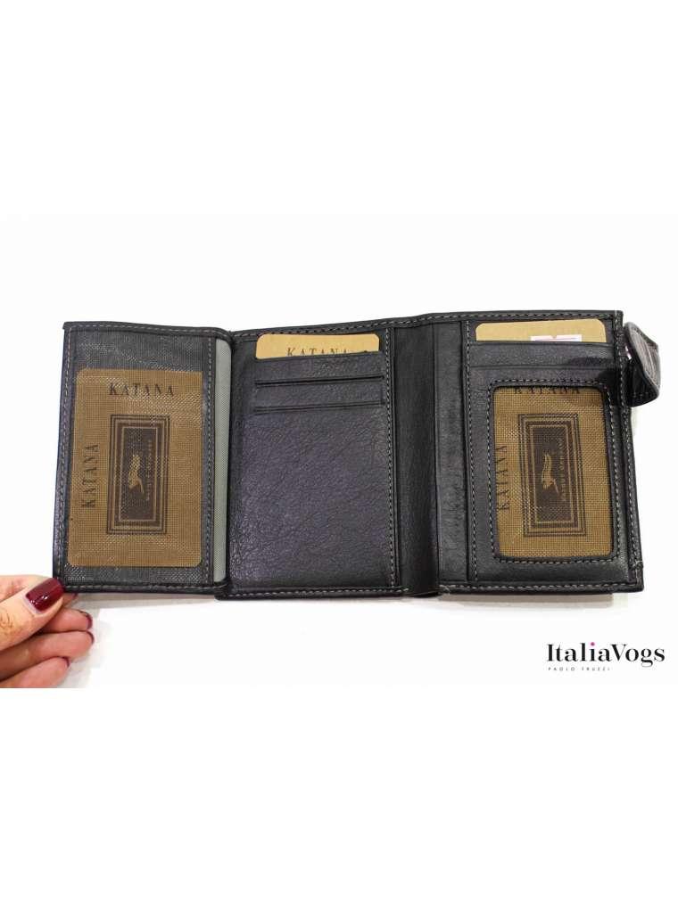 Мужское портмоне из НАТУРАЛЬНОЙ КОЖИ KATANA K753146