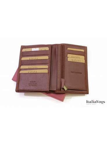 Универсальное портмоне для документов из НАТУРАЛЬНОЙ КОЖИ KATANA K753018