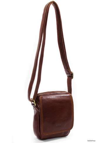 Мужская сумка через плечо из НАТУРАЛЬНОЙ КОЖИ KATANA K36101