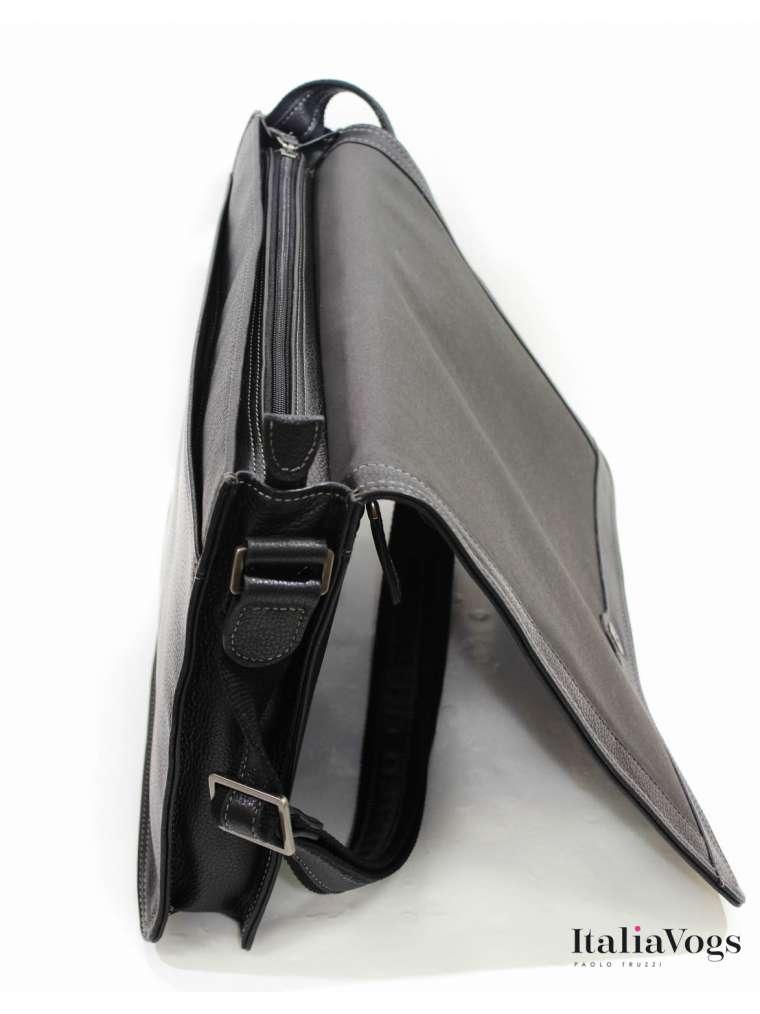Мужская сумка на плечо из НАТУРАЛЬНОЙ КОЖИ KATANA K69305