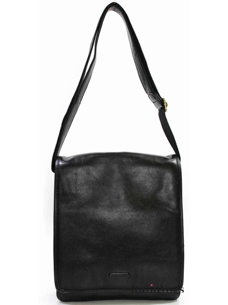 Мужская сумка через плечо из НАТУРАЛЬНОЙ КОЖИ KATANA K36105