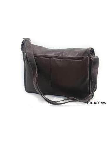 Мужская сумка на плечо из НАТУРАЛЬНОЙ КОЖИ KATANA K69105
