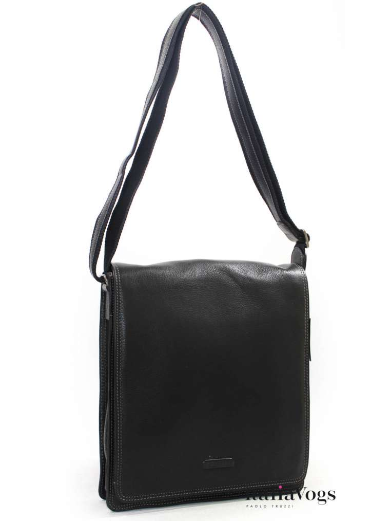 Мужская сумка через плечо из НАТУРАЛЬНОЙ КОЖИ KATANA K69304