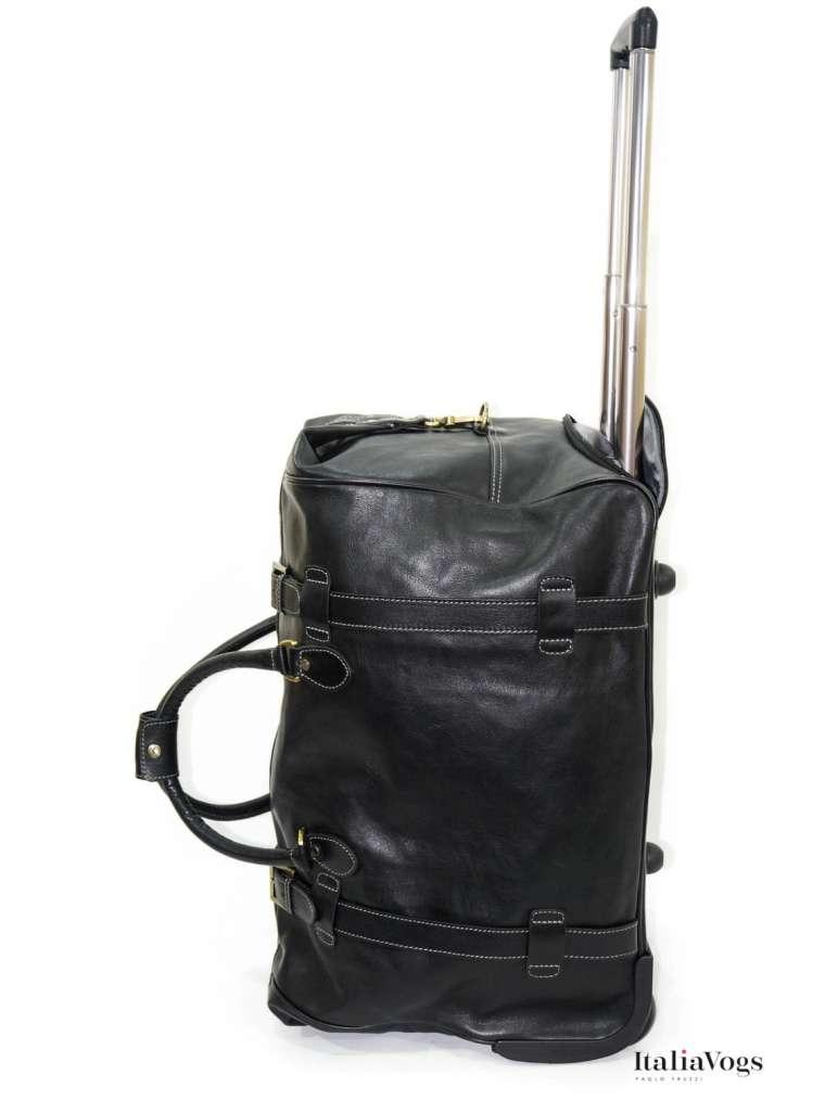 Дорожная сумка на колесах из НАТУРАЛЬНОЙ КОЖИ KATANA K33158