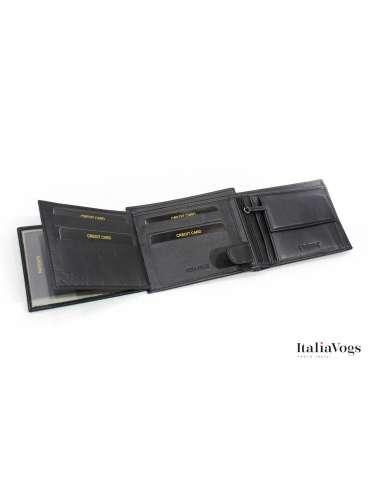 Мужское портмоне из НАТУРАЛЬНОЙ КОЖИ VALENTINI Y306261