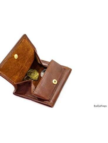 Маленький кошелек из НАТУРАЛЬНОЙ КОЖИ KATANA K753032