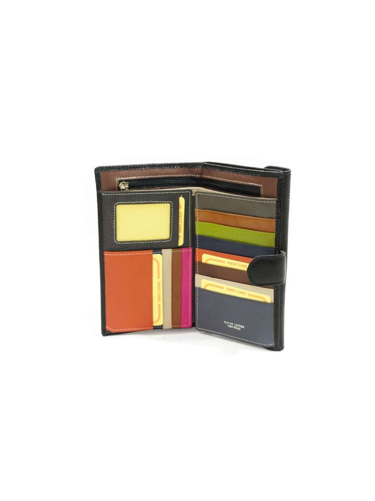 Кожаный кошелек с отделением для документов DANIELAMODA DD107