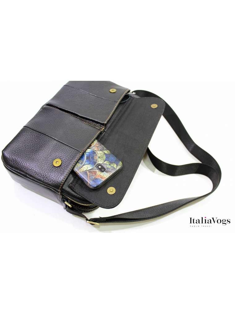 Мужская сумка из НАТУРАЛЬНОЙ КОЖИ D815