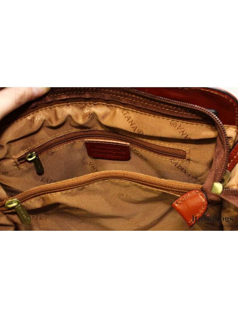 Женская сумка -  рюкзак из НАТУРАЛЬНОЙ КОЖИ KATANA K66806