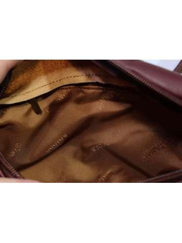 Мужская поясная сумка из НАТУРАЛЬНОЙ КОЖИ KATANA K31010