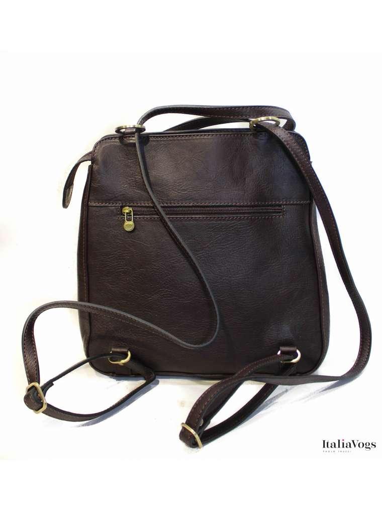 Женская сумка-рюкзак з НАТУРАЛЬНОЇ ШКІРИ KATANA K32605