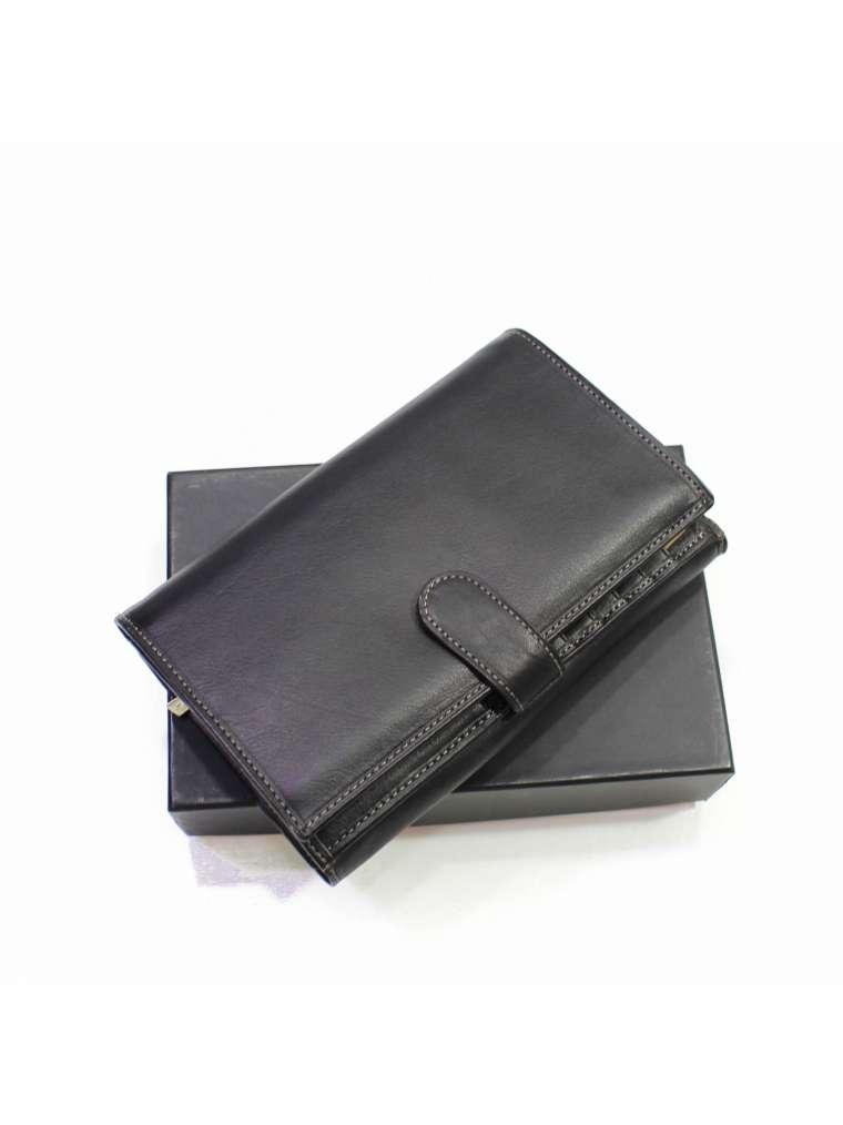 Женский кожаный кошелёк с отделением для документов KATANA K853115