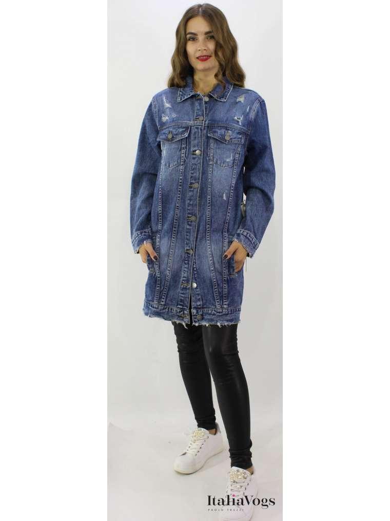 Женская джинсовая куртка MB558