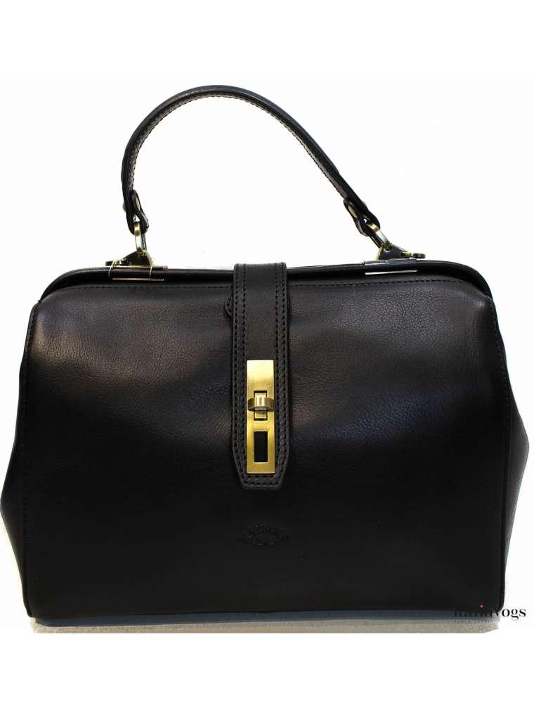 Женская сумка - саквояж из НАТУРАЛЬНОЙ КОЖИ KATANA K32591