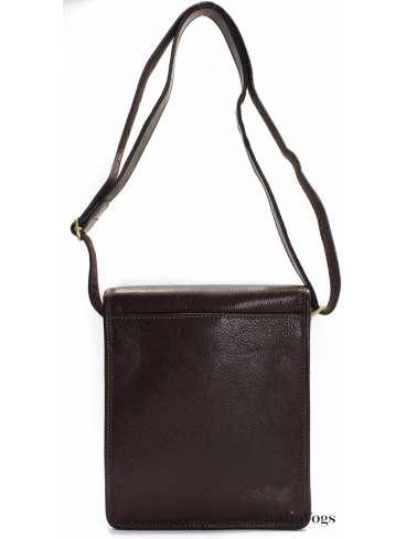 Мужская сумка на плечо из НАТУРАЛЬНОЙ КОЖИ KATANA K36103