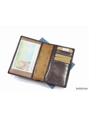 Обложка на паспорт из НАТУРАЛЬНОЙ КОЖИ KATANA K353056