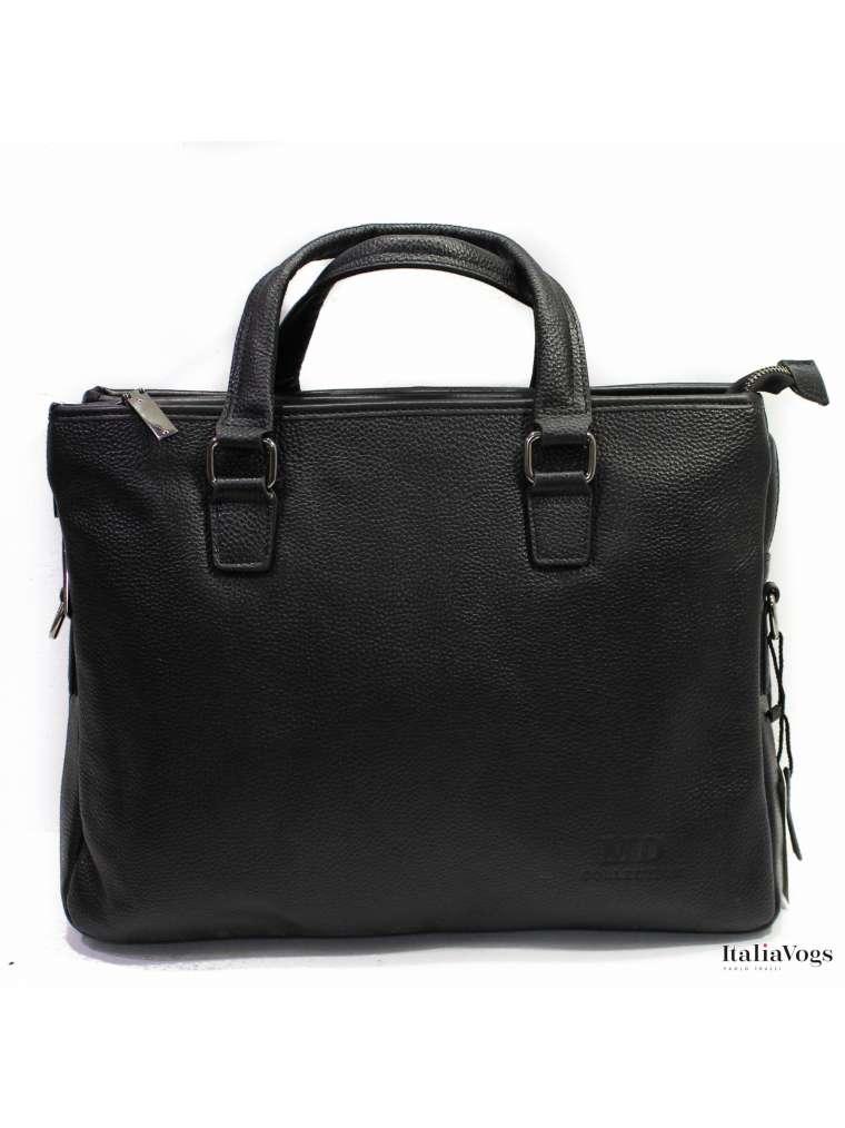Деловая сумка для ноутбука из НАТУРАЛЬНОЙ КОЖИ OD661915