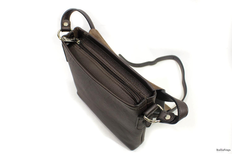 Мужская сумка через плечо из НАТУРАЛЬНОЙ КОЖИ KATANA K83811