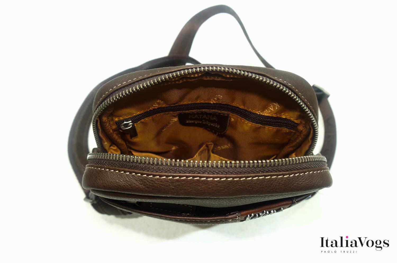 Мужская сумка через плечо из НАТУРАЛЬНОЙ КОЖИ KATANA K81662