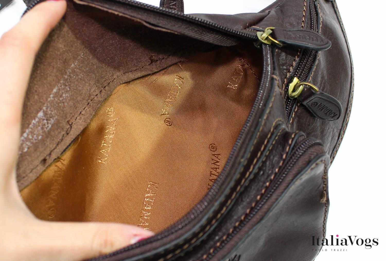 Мужская поясная сумка из НАТУРАЛЬНОЙ КОЖИ KATANA K31000