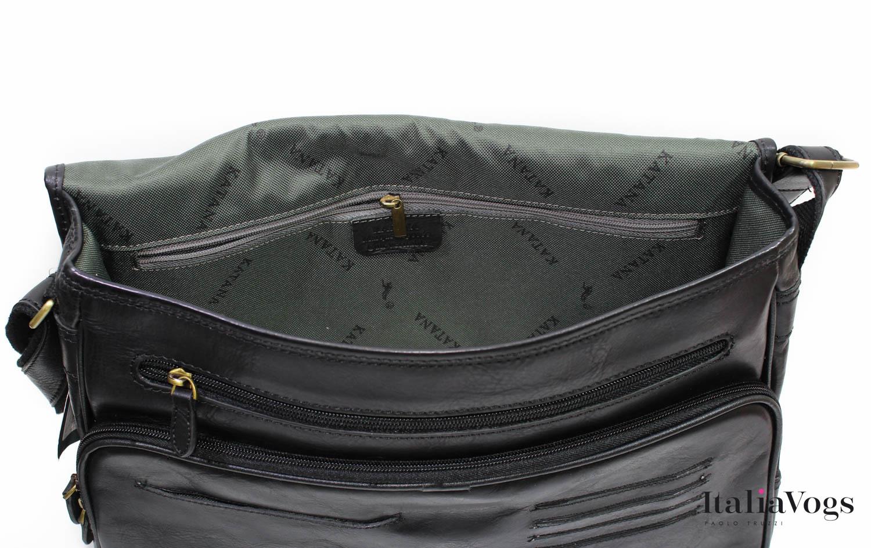 Мужская сумка из НАТУРАЛЬНОЙ КОЖИ KATANA K36109