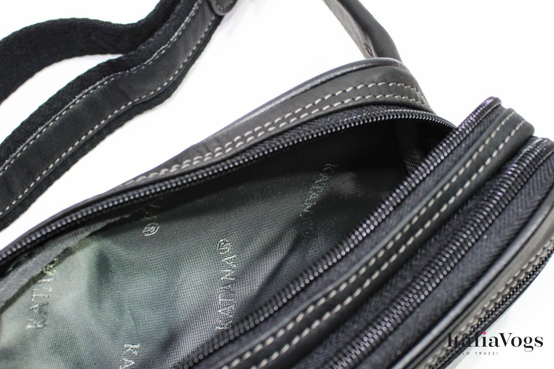 Мужская поясная сумка из НАТУРАЛЬНОЙ КОЖИ KATANA K81001