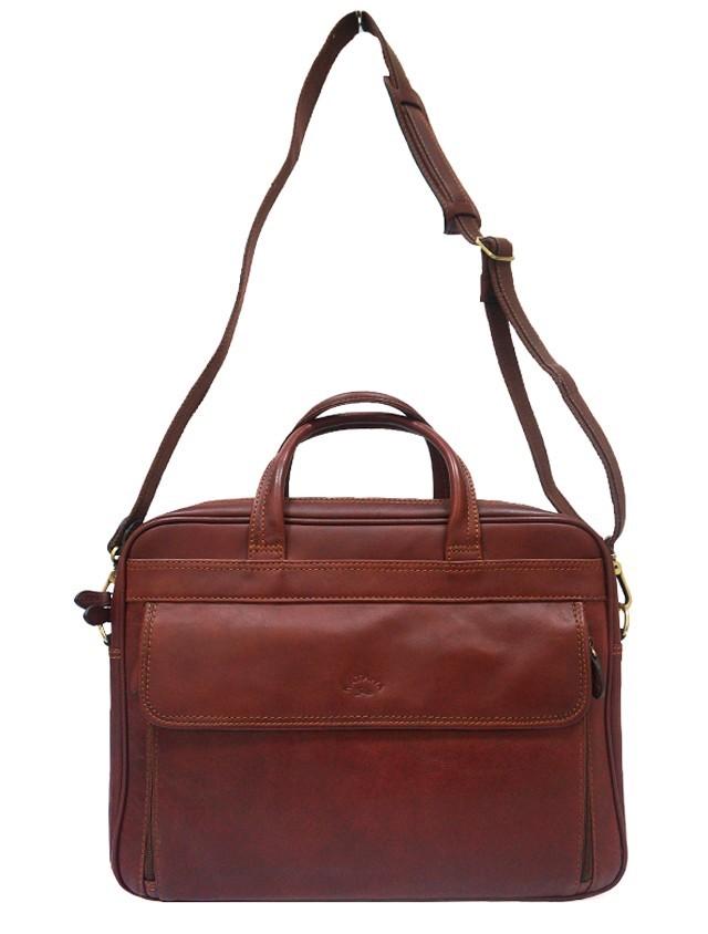 Мужская деловая сумка из НАТУРАЛЬНОЙ КОЖИ KATANA K31023