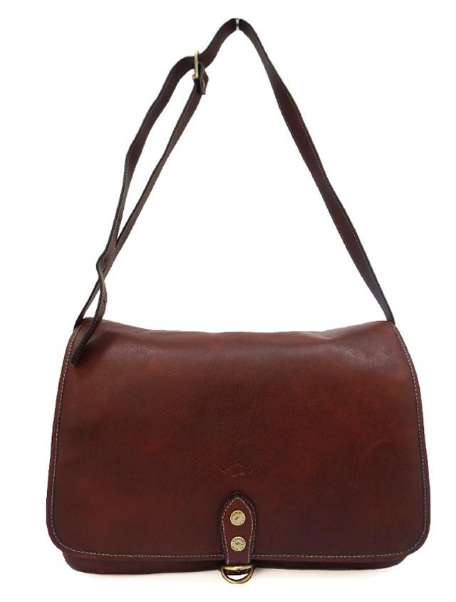 Мужская сумка на плечо из НАТУРАЛЬНОЙ КОЖИ KATANA K32547
